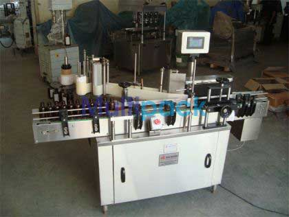 Double Side + Round Bottle Sticker Labeling Machine