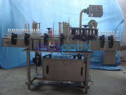 Cosmetic Bottle Sticker Labelling Machine