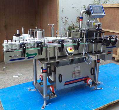 Wrap Round Bottle sticker labelling machine