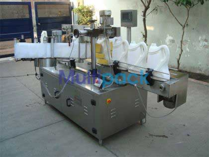 Front And Back Bottle Sticker Labelling Machine