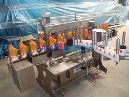 Front & Back Labeling Machine, Front And Back Labeler Machine