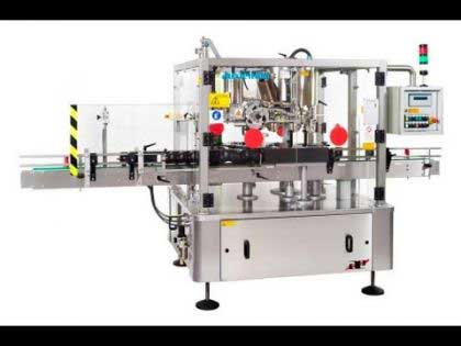 Hot Melt Glue Labeling Machine- Rotary Hot Melt Labelling Machine