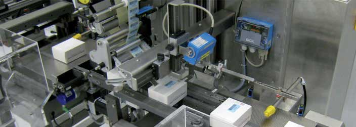 Integrated Track & Trace Case Labeler
