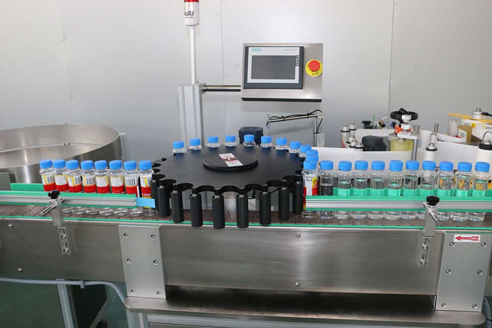 Rotary Bottle Labelling Machine, High Speed Rotary Bottle Labelers