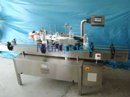 Rotary Bottle Sticker Labelling Machine