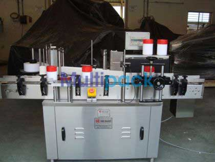 Self Adhesive Vertical Jar/Can/Tin Sticker Labeling Machine
