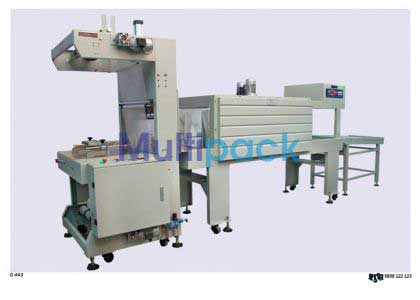 Collating Bundling Shrink Wrapping Machine, Shrink Wrap Machine
