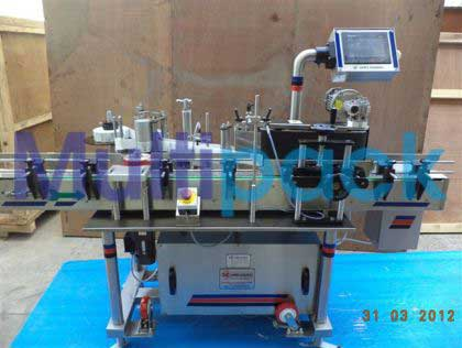Sticker Labeler Machine For Vials & Bottles