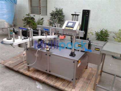 Vial Sticker Labeler Machine
