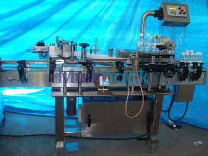 Bottle Sticker Labelling Machine, Bottle Labeller Machine